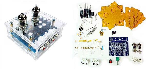 Обзор наборов на радиолампах