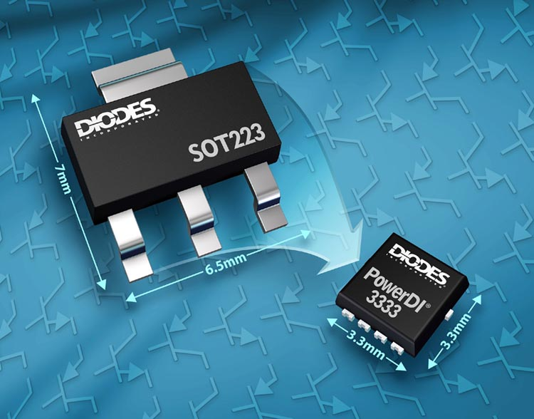 Bipolar Transistors Diodes Incorporated Feature 3.3mm