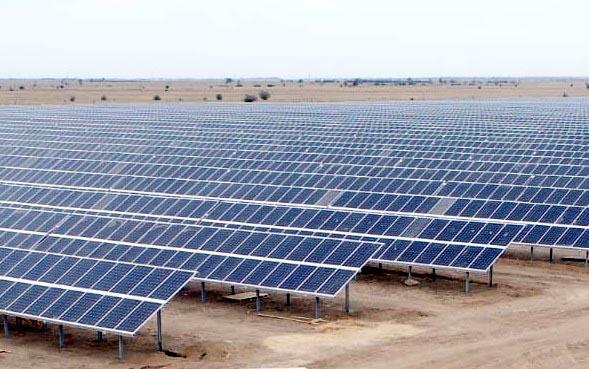 В Астраханской области введена в эксплуатацию солнечная электростанция мощностью 60 МВт
