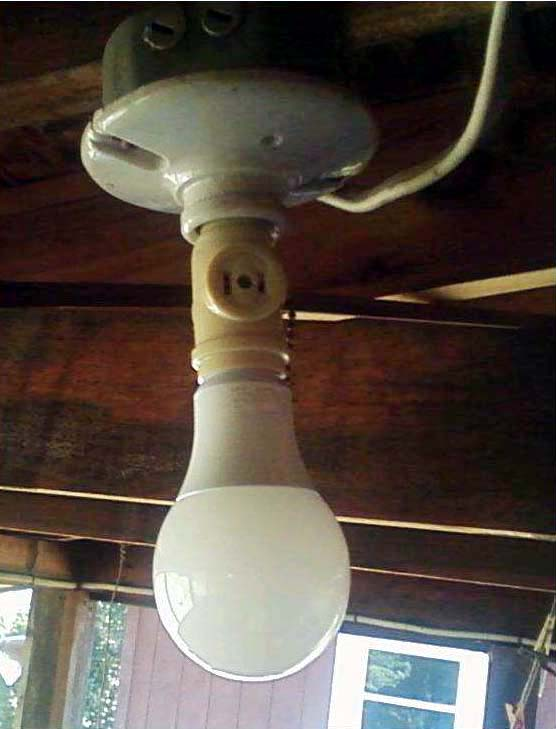 LED bulbs can bring heat