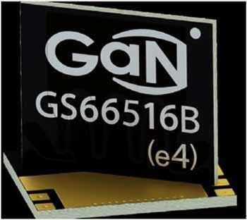 Габаритные размеры корпуса GS66516B составляют 11 x 9 мм