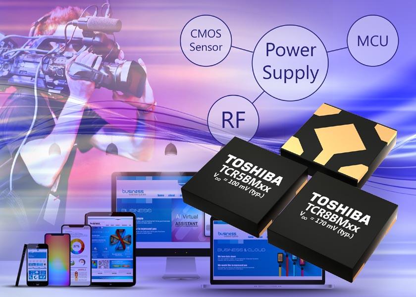 Toshiba выпускает миниатюрные LDO стабилизаторы с самыми низкими в отрасли потерями мощности