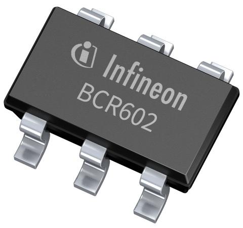 Datasheet Infineon BCR602XTSA1