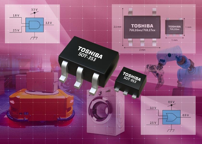 Toshiba анонсировала семейство одновентильных логических схем с низким напряжением питания