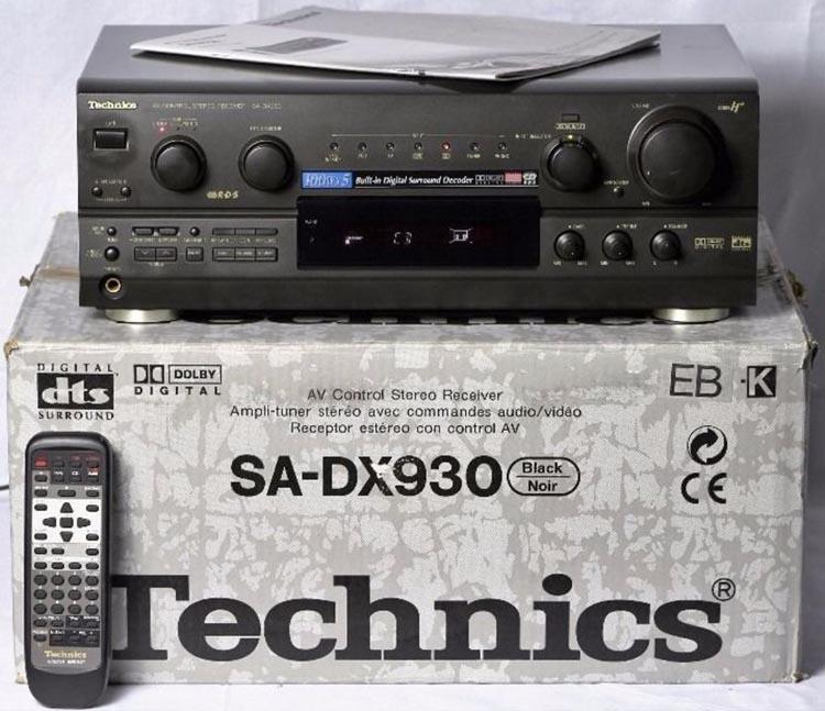 AV-ресивер Technics SA-DX930.
