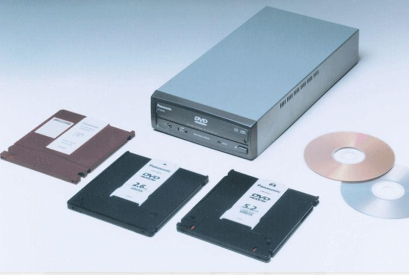 Внешний DVD-RAM Panasonic LF-D100J.