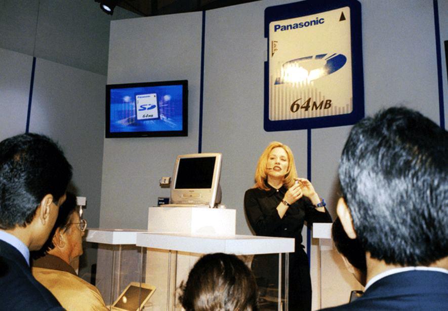 Презентация карт памяти SD.