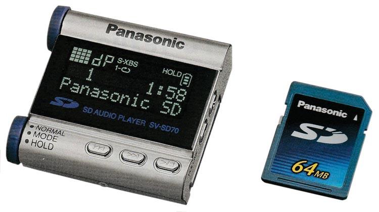 Персональный аудиоплеер Panasonic PR-HS900.