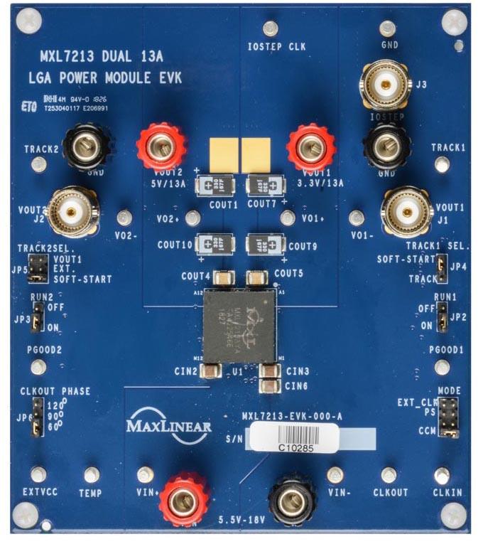 Оценочный модуль MxL7213EVB