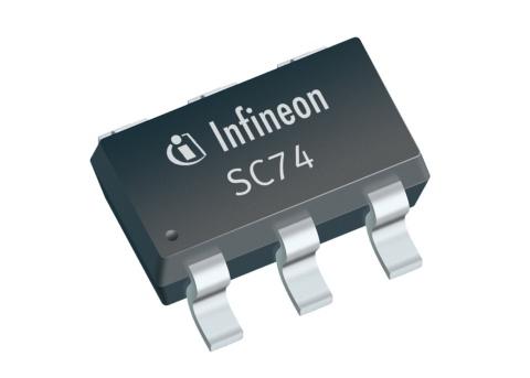 Datasheet Infineon SMBT3904UPNE6327HTSA1