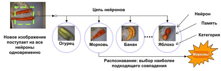 Использование NM500 для распознавания продуктов