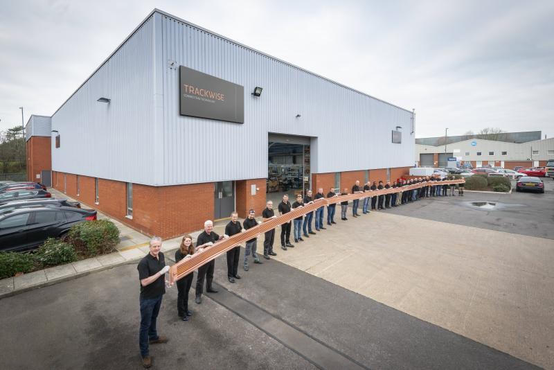 Trackwise изготовила гибкую печатную плату длиной 26 метров