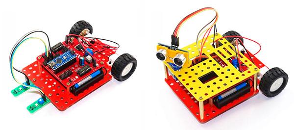 Интерактивные роботы-конструкторы