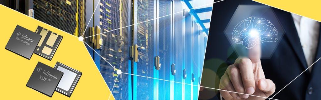 Infineon начала производство первого в отрасли интегрального решения для 1000-амперных регуляторов напряжения