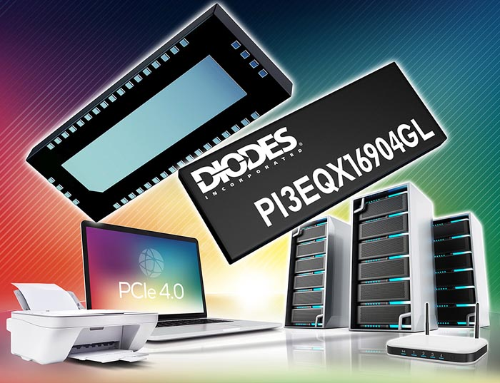 Diodes - PI3EQX16904GL