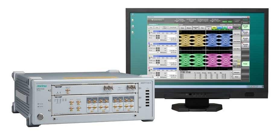Anritsu выпускает 4-канальный осциллограф и BER-тестер в едином блоке