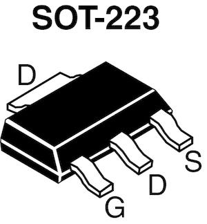 Datasheet Vishay IRLL110