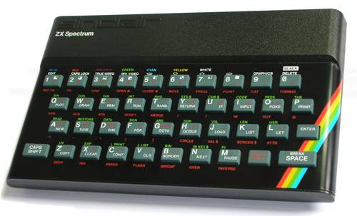 Оригинальная модель ZX Spectrum на 48 КБ