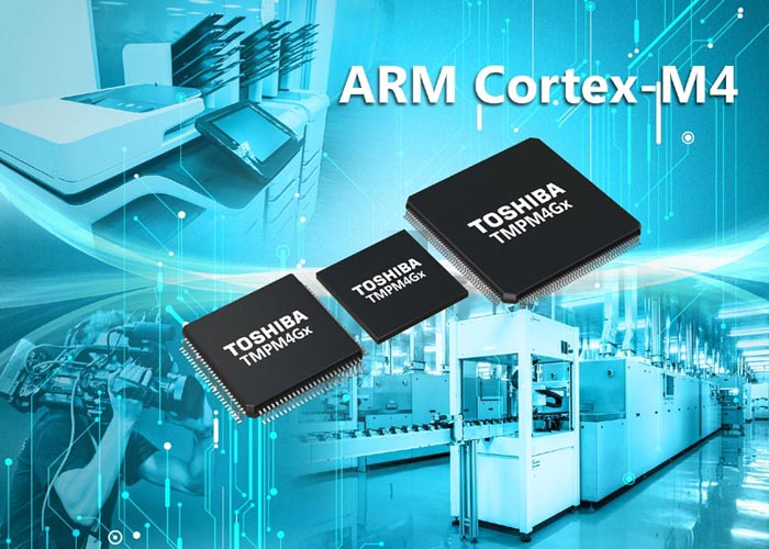 Toshiba ARM Cortex-M4-based Microcontrollers deliver high-speed