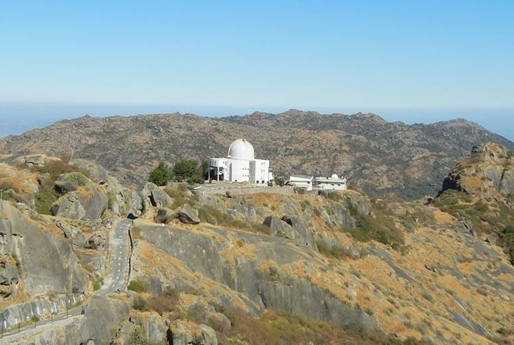Обсерватория Маунт-Абу, на которой установлено оборудование наземной станции NAVIC.