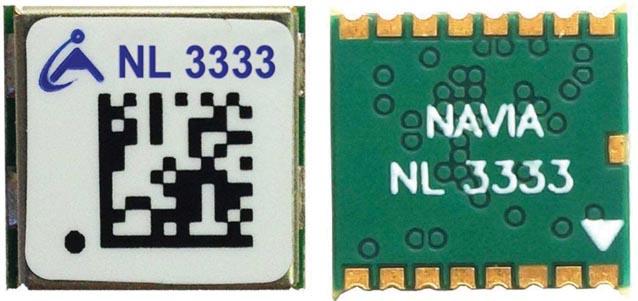 Навигационный приемник NL3333 производства компании НАВИА.