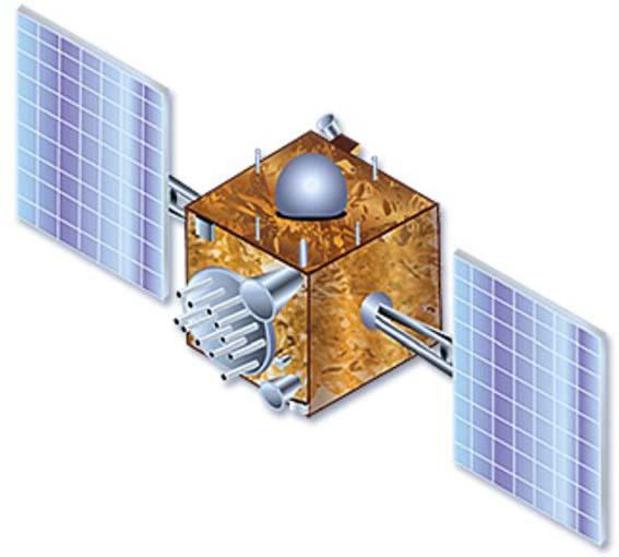 Космический аппарат IRNSS-1a.