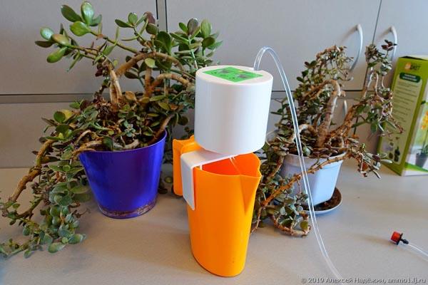 Автолейка - автоматический полив комнатных растений