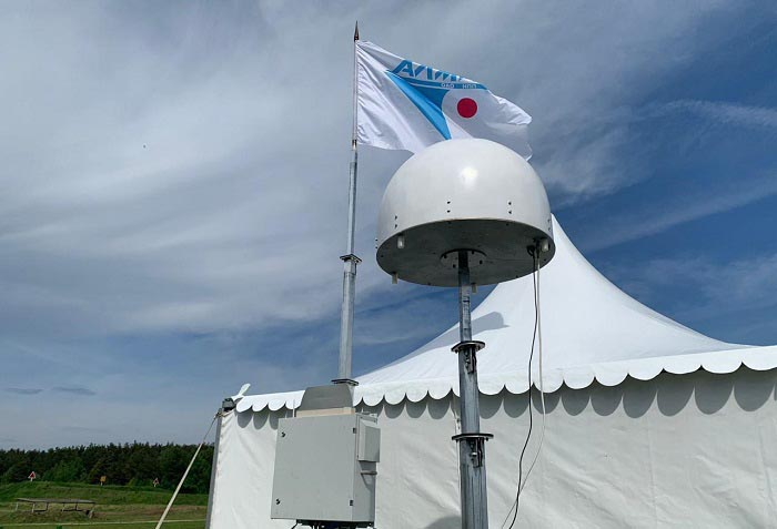 «Росэлектроника» впервые продемонстрировала работу комплекса противодействия гражданским дронам «Атака-DBS»