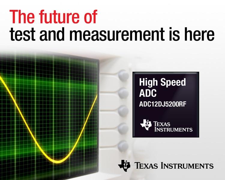 Texas Instruments - ADC12DJ5200RF
