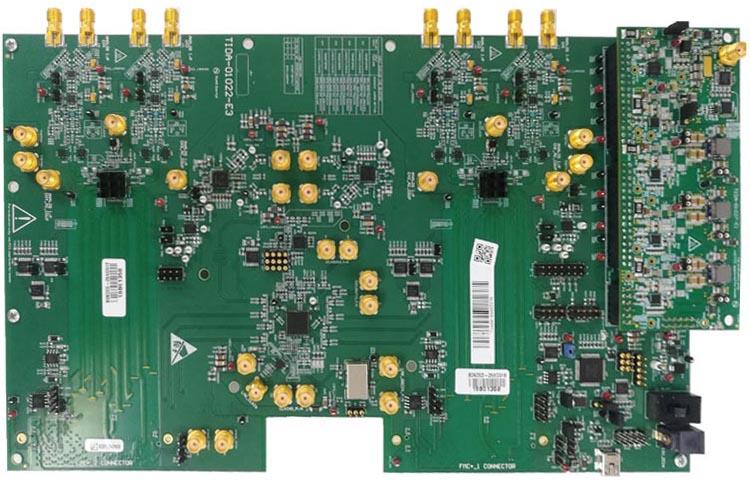 Типовой проект TIDA-010128 масштабируемого 12-разрядного преобразователя со скоростью выборки 20.8 Гвыб/с