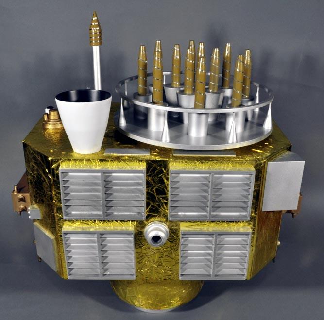 Макет КА Block-II.