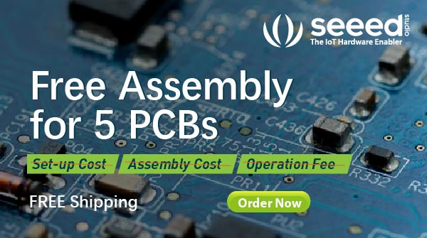 Seeed Studio Offers Free Assembly for 5 PCBs