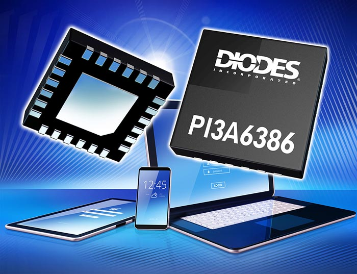 USB Type-C Port Switch Diodes Incorporated