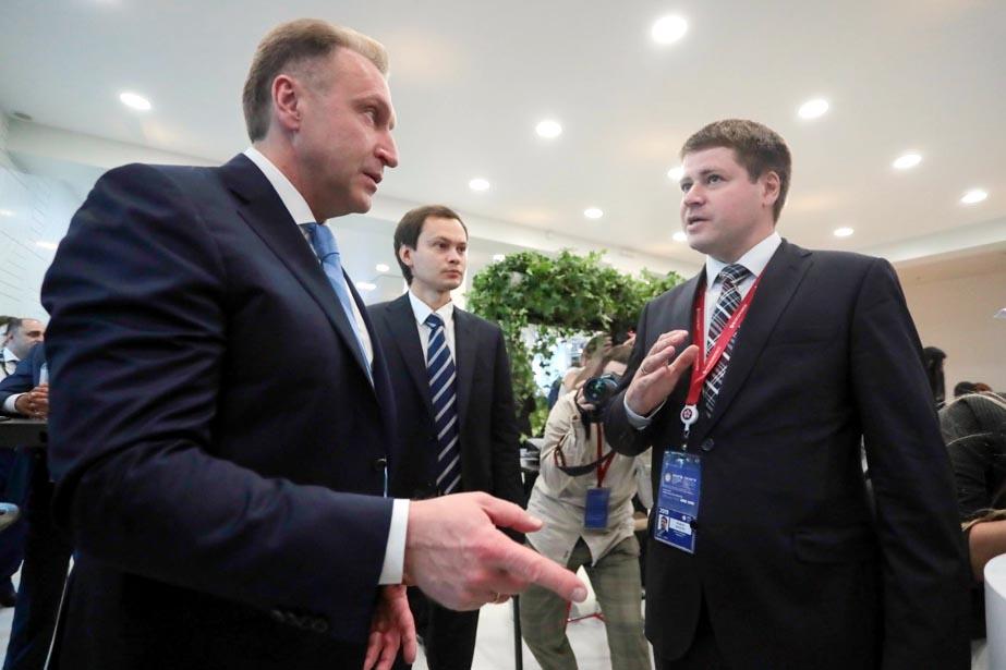 Ангстрем-Т представил образцы своей продукции на Петербургском международном экономическом форуме