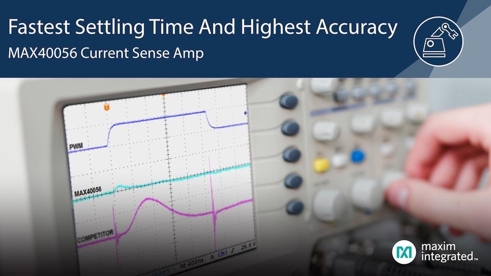 Maxim Bi-directional Current Sense Amplifier PWM