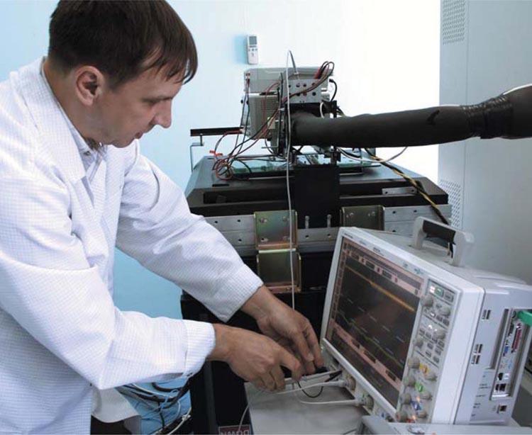 В сертификационной лаборатории «ПетроИнТрейд».