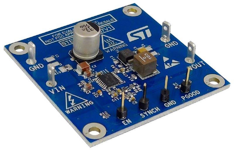 The STEVAL-ISA207V1 Evaluation Board