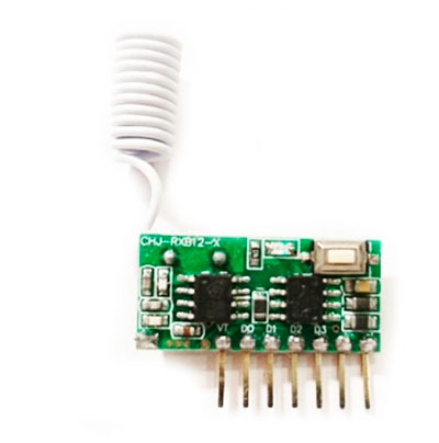 Универсальный приемник 433 МГц на 4 канала