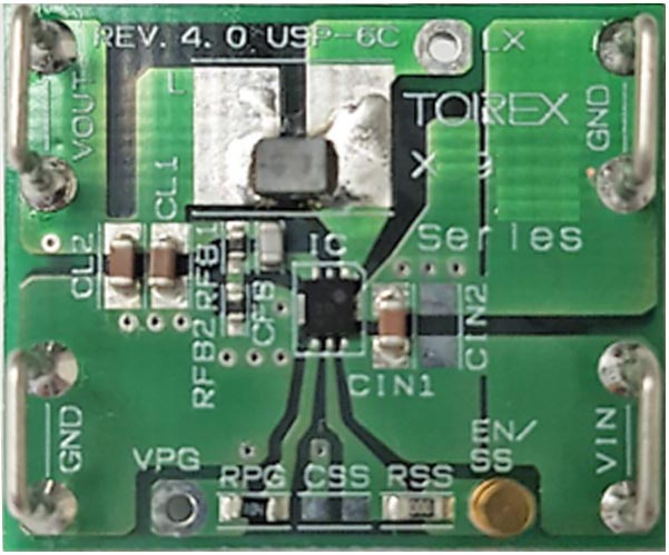 The XC9267/68 Evaluation Board