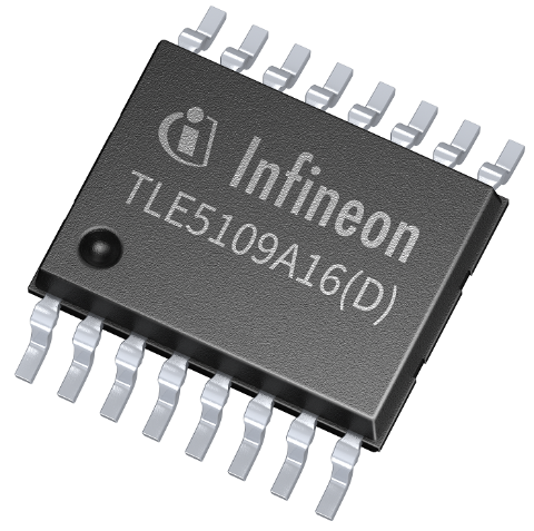 Datasheet Infineon TLE5109A16D E1210
