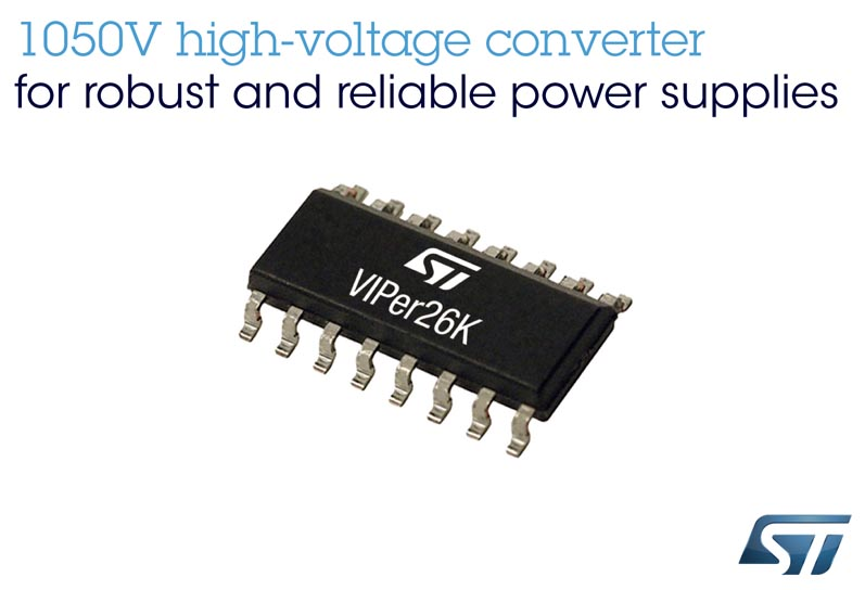New VIPer Converter STMicroelectronics Features Market