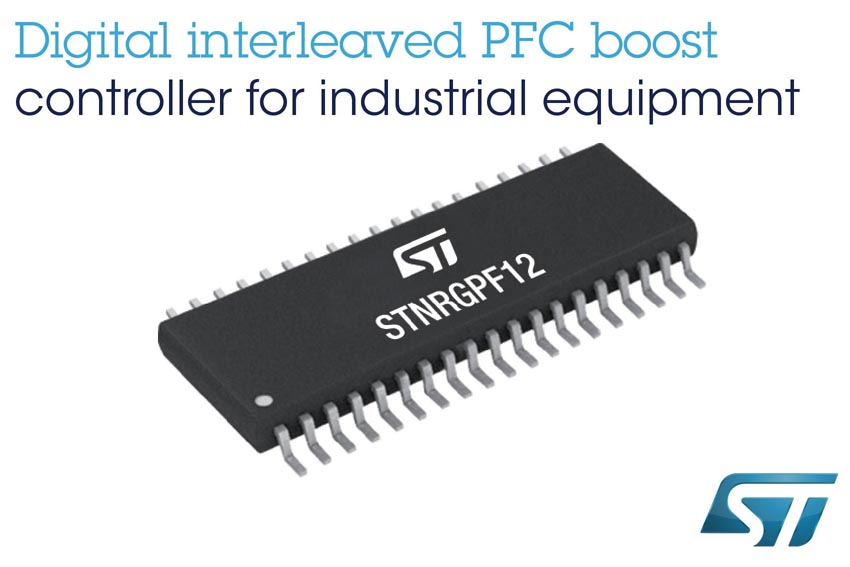 Flexible Digital Power-Factor Controller STMicroelectronics Leverages