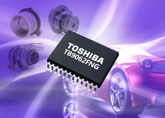 Toshiba launches sensorless control pre-driver IC