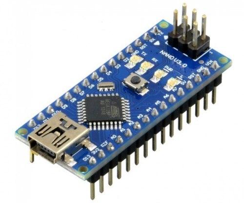 Плата Arduino Nano.