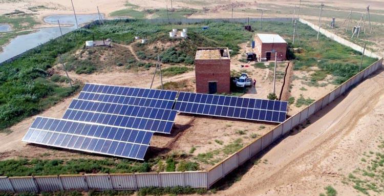 В Калмыкии солнечная энергия запитает систему насосов водоснабжения
