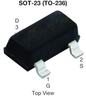 Datasheet Vishay SI2312CDS-T1-GE3