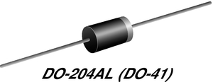 Datasheet Vishay 1N4007-E3/73