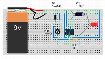 Набор для изучения электроники NR04