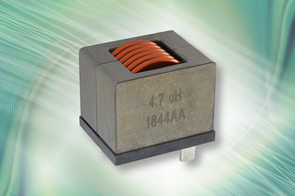Vishay Intertechnology IHDM Edge-Wound Inductor Delivers
