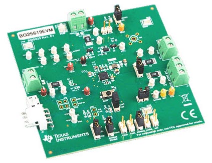 The BQ25619 (BMS025) Evaluation Module